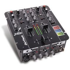Welcome to the a brand new compact professional DJ Mixer w/an integrated USB interface.On-Board Soundcard - The is equiped w/a USB Audio Interface. The included ASIO Driver allows you to DJ w/both PC & Mac platforms at ul Mixer Dj, Music Mixer, Studio Equipment, Dj Equipment, Dj Rig, Professional Dj, Dj Gear, The Dj, Hardware
