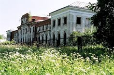 Chernyshev's Manor near Moscow. Once a dazzling manor with two theaters and a beautiful garden, now it has been left to rot. All was lost with the fascist occupation in 1941.