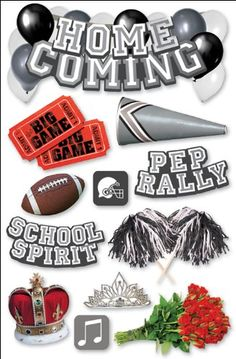 Paper House Productions STDM0056E 3D Cardstock Stickers Homecoming 3Pack >>> You can get more details by clicking on the image.Note:It is affiliate link to Amazon.