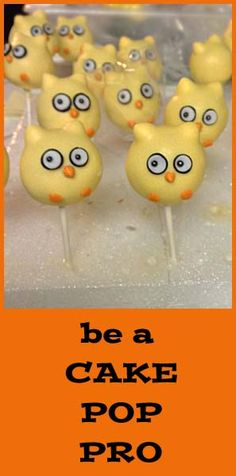 How to make Owl Cake Pops and other cake pop tricks