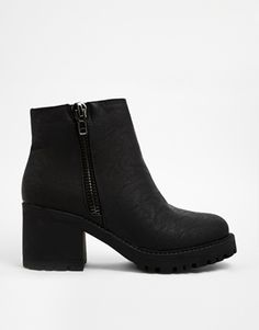 New Look: Champ Grunge Sole Ankle Boots