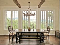 I want 3 sets of French doors across the back of  my cottage!