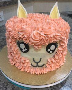 Birthday Cake For Teens Girls Diy Ideas - Lama cake -Trendy Birthday Cake For Teens Girls Diy Ideas - Lama cake - Birthday Cake Girls Teenager, 20 Birthday Cake, Bithday Cake, Birthday Cakes For Teens, Llama Birthday, Little Girl Birthday, Birthday Ideas, 11th Birthday, Pretty Cakes