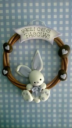 Rabbit for cupcakes topper... Good idea