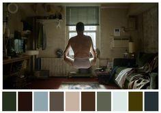 Esta cuenta de Twitter hace la labor de reducir escenas de películas a una paleta de color. | 29 Escenas de películas inolvidables para todos los amantes del color