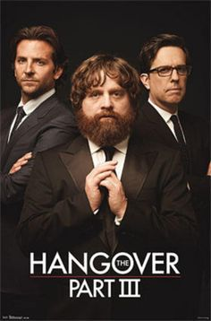 The Hangover III - Trio Movie Poster Photo from AllPosters.com