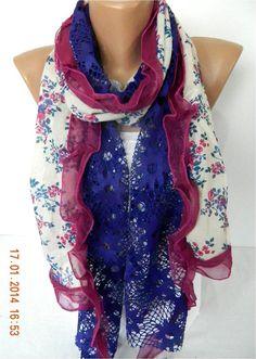 Fashion Elegant Scarf Trend Scarf ShawlsScarves by MebaDesign