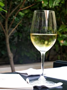 a lovely glass of wine ...make mine a Chardonnay or a Pinot Grigio, perhaps???