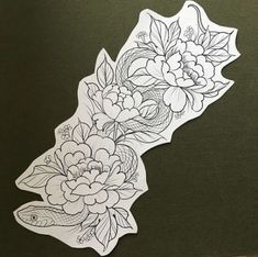 ideas tattoo ideas shoulder inspiration lotus flowers for 2019 Tattoo Designs Wrist, Flower Tattoo Designs, Flower Tattoos, Snake And Flowers Tattoo, Snake Tattoo, Trendy Tattoos, Cute Tattoos, Tattoo Sketches, Tattoo Drawings