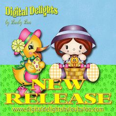 New releases for March from www.digitaldelightsbyloubyloo.com
