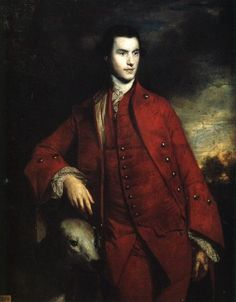 Charles Lennox, 3rd Duke of Richmond (1735-1806), by Sir Joshua Reynolds, 1758. Richmond served in Pitt's cabinet for several years.