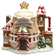 Christmas cookie jar gifts are favorite holiday gift ideas. Beautiful Christmas cookie jar gifts will delight anyone on your gift list. Christmas Cookie Jars, Christmas Gingerbread, Christmas Crafts, Christmas Decorations, Holiday Decor, Christmas Ideas, Gingerbread Houses, Christmas Ornaments, Christmas Sweets