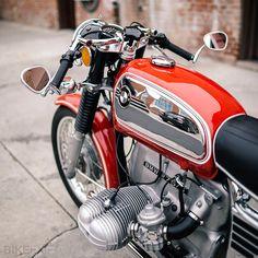 1972 BMW a 'Traditional Custom' - Motorrad Bmw S1000rr, Bmw R100, Yamaha Cafe Racer, Cafe Racer Build, Cafe Racers, Bmw Classic, Classic Bikes, Bmw M3, Motos Bmw