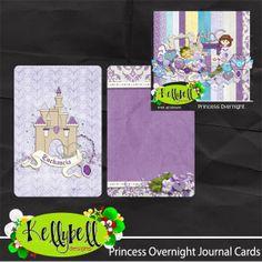 FREE Princess Overnight Journal Cards
