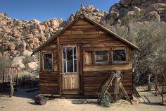 Old Cabin at Keys Ranch, Joshua Tree NP