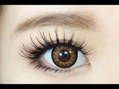 How To : Gyaru Eye Makeup 2