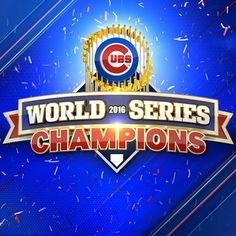 A blog post about the 2016 World Series and my writing progress.