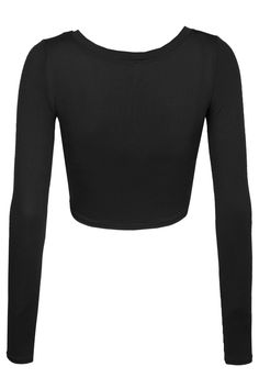 Sizes may run small; please choose a size up. This lightweight long sleeve round neck crop top is perfect for any occasion. You can wear it casually with high waisted denim pants or dress it up with a