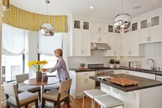 HGTV presents a transitional home with built-in cabinetry and shelving. The…