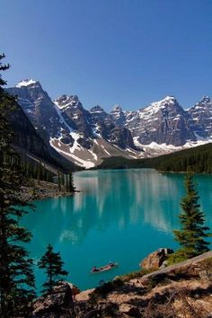 Berge, Seen, Wälder: Die Landschaften in Kanada sind spektakulär. Hier im Bild: ein See im Banff Nationalpark in British Columbia