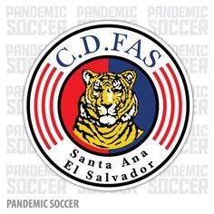 CD FAS El Salvador Vinyl Sticker Decal Calcomania