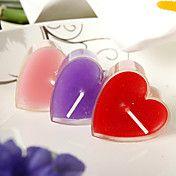 hart ontwerp kleine kaars (set van 6) – EUR € 1.64