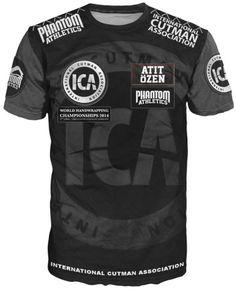International Cutman Association - ICA Team Shirt