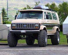 Ford Econoline Custom On Ground Hogs 4x4 Van, 4x4 Trucks, Cool Trucks, Lifted Trucks, Custom Trucks, Dodge Trucks, Lifted Ford, Diesel Trucks, Ford Raptor