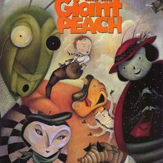 james and the giant peach illustrations - Google Search