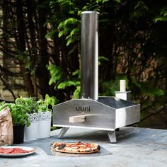 Uuni 3 Stainless Steel Portable Wood-Fired Pellet Pizza Oven : BBQ Guys