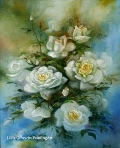 Flowers - Roses Impression by Lidia Olbrycht