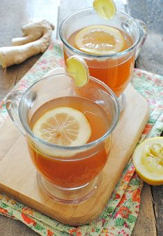 Sriracha Honey Hot Toddies ... that nasty head cold doesn't stand a chance!