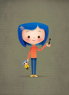 Happy Anniversary to CORALINE - one of my favorite films from and based on a favorite book from Coraline Jones, Coraline Art, Illustrations, Illustration Art, Dreamworks, Laika Studios, 3d Art, Arte Disney, Disney Drawings