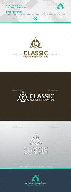 DescriptionIf you are looking for a simple creative logo, Classic Logo Template is an excelent logo template suitable for your com