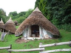 Iron Age village (and you didn't know they had digital cameras back then!).