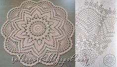 Relase: Centrino crochet - scheme