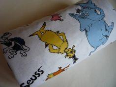 Dr. Suess Stroller Blanket by Greenerbeginnings on Etsy, $27.00