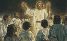 """Christ preaching in Spirit World.  What happens after this life is over?  President Ezra Taft Benson said: """"Sometimes the veil between this life and the life beyond becomes very thin. Our loved ones who have passed on are not far from us"""" (in Conference Report, Apr. 1971, 18; or Ensign, June 1971, 33). President Brigham Young taught that the postmortal spirit world is on the earth, around us (see Teachings of Presidents of the Church: Brigham Young [1997], 279)."""