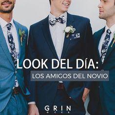 Indispensables: los amigos de novio  . . . . #grinaccs #griner #soygrin #grinit #accesorioshombre #accesorioscaballero #moños #pajaritas #bowtie #corbatas #ties #tirantes #suspenders #fistoles #pindesaco #pañuelos #mancuernillas #gemelos #fashion #instamoda #menfashion #groom #bestman #menstyle #modamasculina #weddings #groom