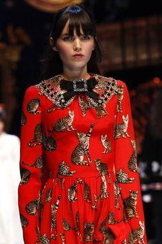 Dolce & Gabbana, Autumn-Winter 2016-17   GeorgiaPapadon