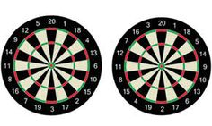 Pick up a dartboard and darts to hit a bullseye every time. Shop dart boards, darts & more from top brands at Bullseye darts Sporting Goods. Have a look at our great selection of dartboards, including traditional and electronic ones. Get yours today!http://bit.ly/1nSC7Jg