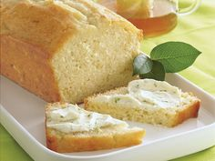 Buttermilk-Lime Tea Bread - Filled with refreshing citrus flavor, this quick bread made with Gold Medal® all-purpose flour is an all time favorite! Quick Bread, How To Make Bread, Bread Making, Lime Tea, Our Daily Bread, Baking Recipes, Bread Recipes, Baking Breads, Buttermilk Recipes