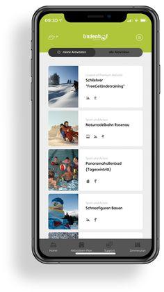 Lindenhof - Das Jugendparadies | MOREMEDIA® Interface Design, Der Bus, User Experience Design, App Design, Group Tours, Advertising Agency, Teachers, User Interface Design, Application Design