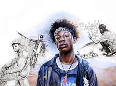 finished!! yay! #joeybadass #mixedmedia #prismacolor #colorpencil #watercolor #drawing #art by amyshin2010
