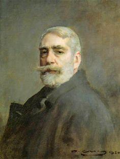 Autorretrato (1883). Ramon Casas (1866-1932).