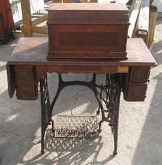 Antique 1878 Singer Sewing Machine