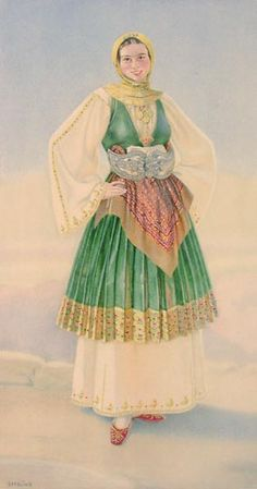 #26 - Peasant Woman's Dress (Thessaly, Trikkeri)