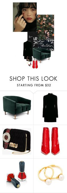 """""""Power"""" by sue-mes ❤ liked on Polyvore featuring Behance, Yves Saint Laurent, Miu Miu, Gianvito Rossi, Oribe and Joanna Laura Constantine"""