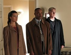 Teammates - Season 10, #11.  Ziva (Cote de Pablo, left) is taken aback by the sudden emotional visit by her father, who she hasn't seen in more than two years. While Ziva questions the purpose of her father's visit as the Director of Mossad, her father insists he is in the U.S. strictly to see his daughter for Shabbat dinner. Also pictured: Mark Harmon (right) and Rocky Carroll (center) Photo: Monty Brinton/CBS ©2012 CBS Broadcasting, Inc. All Rights Reserved.