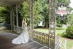 Bridal portrait in Historic Home.  Classic Southern Wedding.   Photography:  Andie Freeman Photography www.TheAthensWeddingPhotographer.com Event Coordinator: www.WildflowerEventServices.com Event design and Catering:  Mama's Boy Venue:  Lyndon House Arts Center